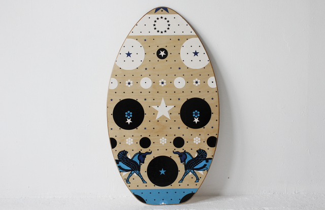 Fredericks & Mae, 'Skim Board', 2013, Design/Decorative Art, Wood, silk-screened, waterproofed, Museum of Arts and Design