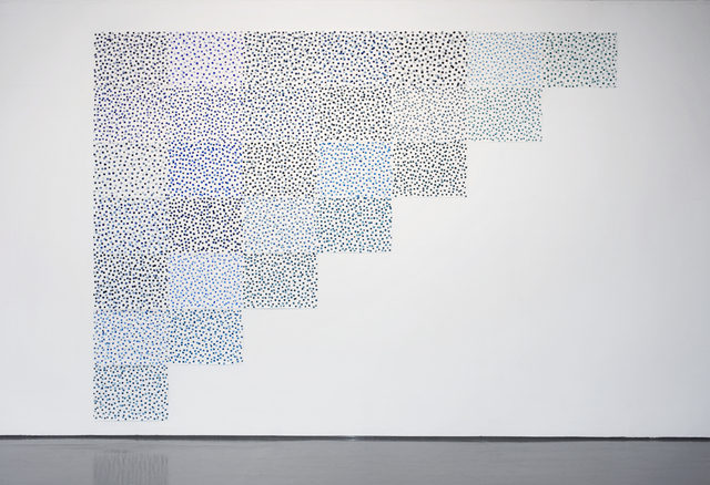 Spencer Finch, '8456 Shades of Blue (After Hume)', 2008, Galerie Nordenhake