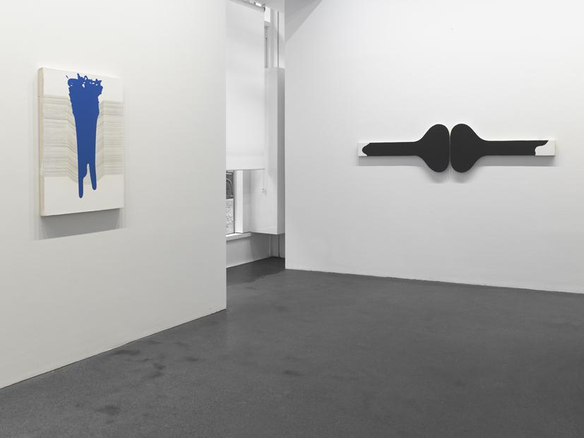 Gary Kuehn, Black Painting, 2015; Copyright: Photo: Günter König