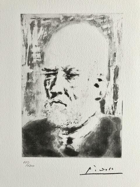 Pablo Picasso, 'Portrait d'Ambroise Vollard (Suite Vollard Planche XCVIII)', 1973, ByNewArt