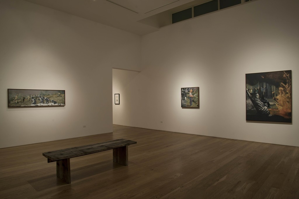 """The Edge of Town,"" Installation View at Samuel Freeman, 2015"