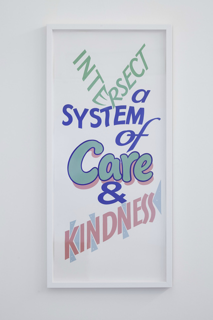 , 'Intersect a system with care and kindness,' 2017, Rowing