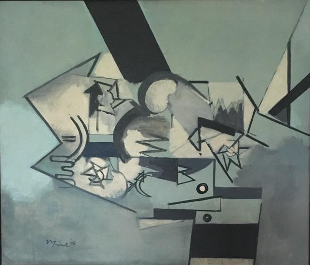 , 'Mythical Being Mask,' 1946, AbExArt