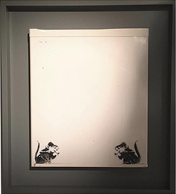 "Banksy, '""Bowler Hat Rats"" aka ""Lock Pick Rats""', ca. 2004, MultiplesInc Projects"