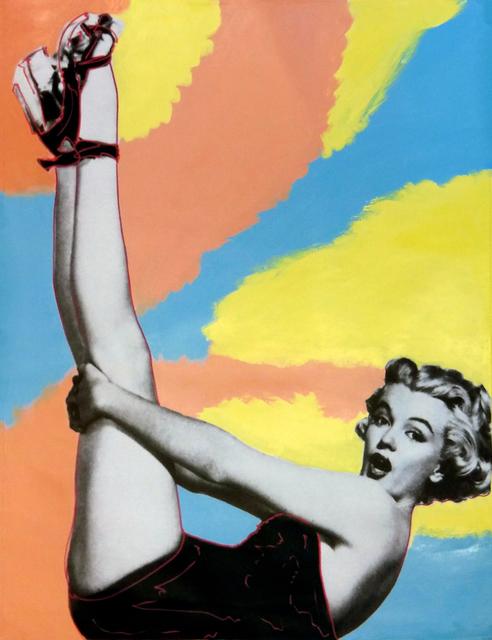 Steve Kaufman, 'MARILYN - HEADS UP!', 1995-2005, Gallery Art