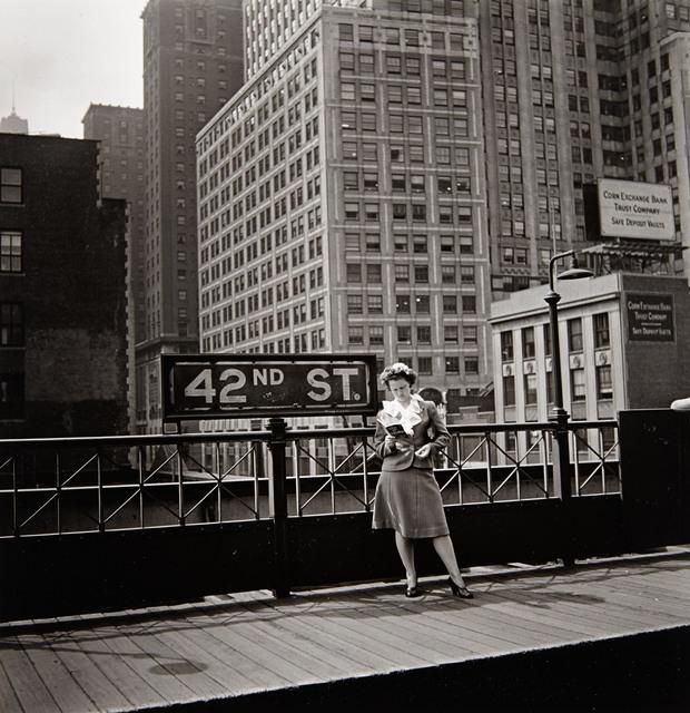 Arnold Eagle, '[New York, 42nd Street, Third Avenue El]', 1936, Photography, Gelatin silver print, Doyle