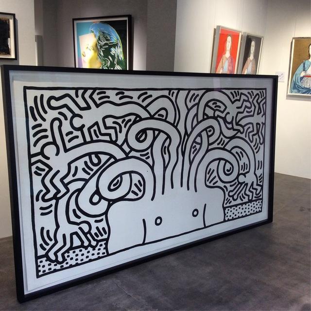 Keith Haring, 'Medusa Head', 1986, Joseph Fine Art LONDON