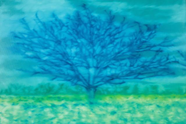 , 'Arbre Bleu,' 2017, Blue Gallery