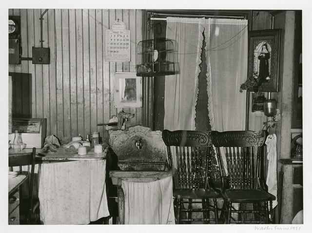 , 'New York City Tenement Kitchen,' 1931, Robert Klein Gallery