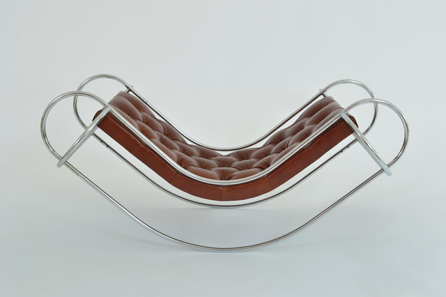 , 'Symetrique Rocking Chair and Ottoman,' 1971, Demisch Danant
