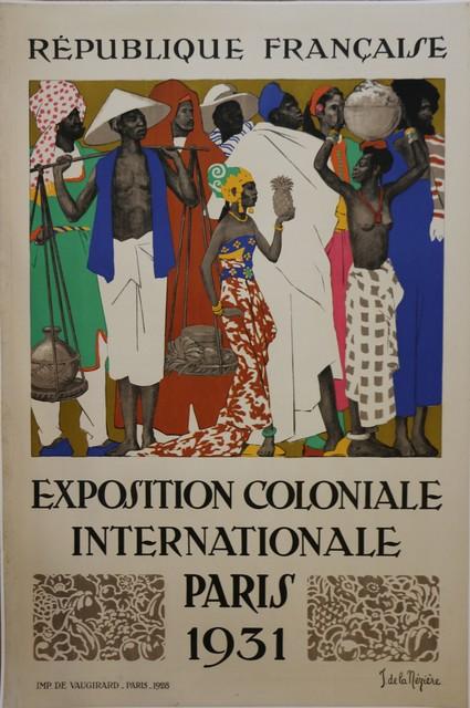 Jean de la Mézière, 'Rare Lithographic Poster by De La Mézière for the 1931 Paris Colonial Exhibition', 1931, Avant-Garde Gallery