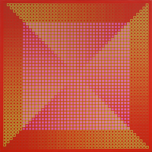, 'Centered Duality Red II ,' 1981, David Richard Gallery