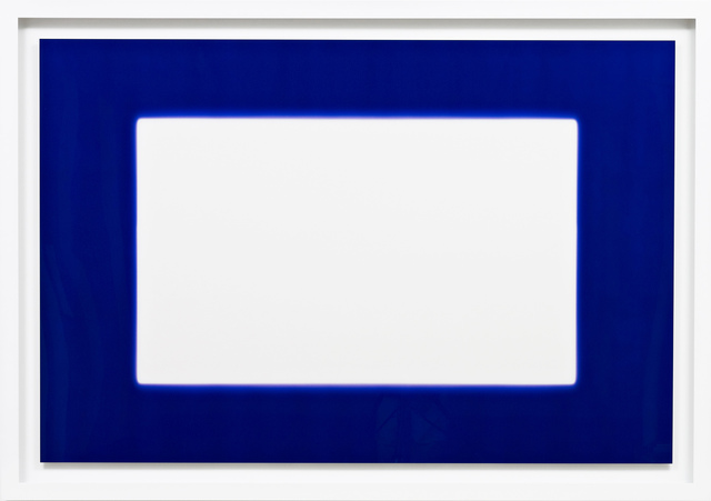 , 'White in Blue,' 2009, HackelBury Fine Art