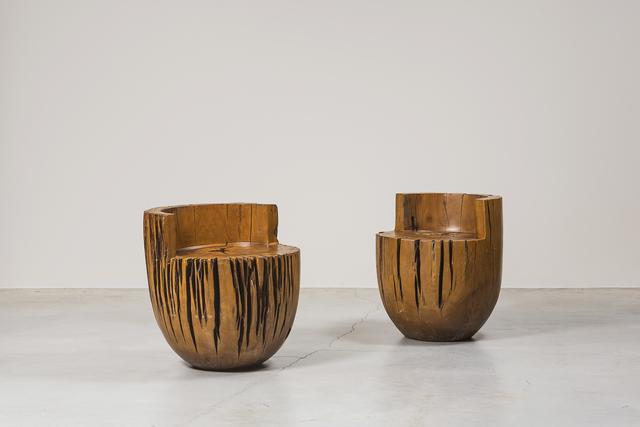 , 'Two seats,' 1985, Nilufar Gallery