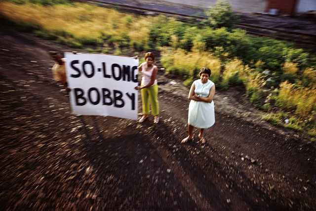 , 'Untitled from RFK Funeral Train ,' 1968, Danziger Gallery