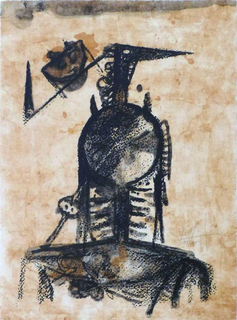 Wifredo Lam, 'No title', 1978, Le Coin des Arts