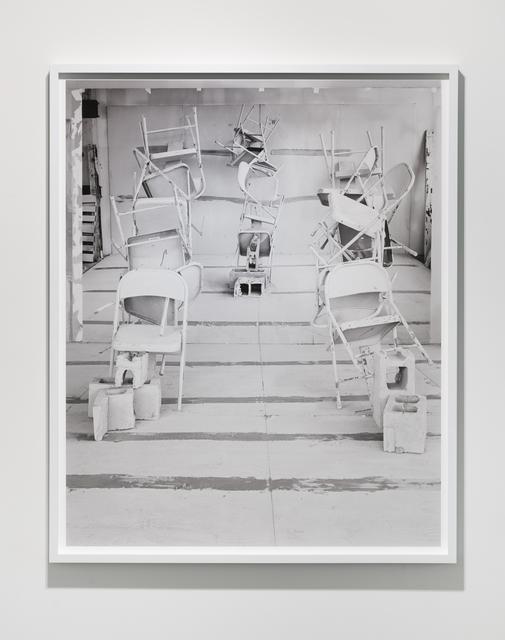 , 'Barricade No. 3,' 2017, Klowden Mann