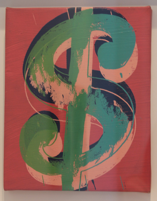 , 'Dollar sign,' 1982, Mirat Projects