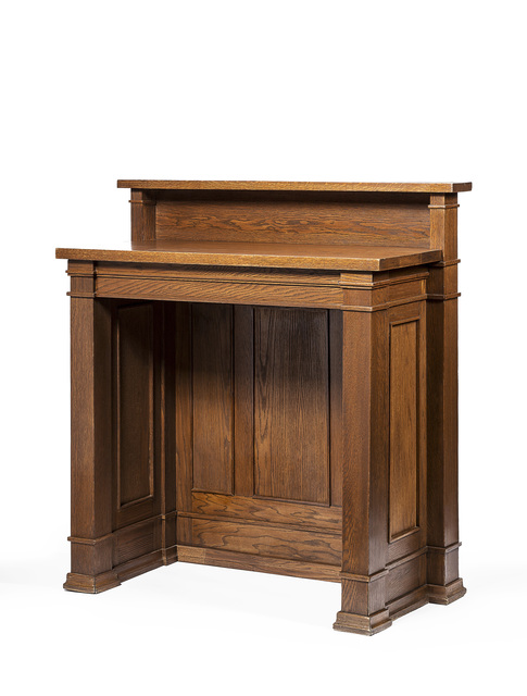 , 'Standing desk,' 1906, Oscar Graf