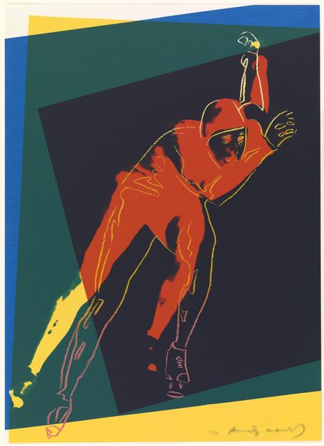 Andy Warhol, 'Speed Skater', 1983, Print, Screenprint, Nikola Rukaj Gallery