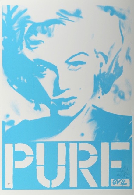 Pure Evil, 'Marilyn (Blue)', Chiswick Auctions