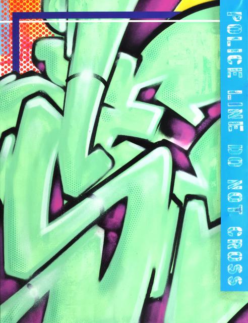 , 'SEEN GREEN,' 2017, StolenSpace Gallery