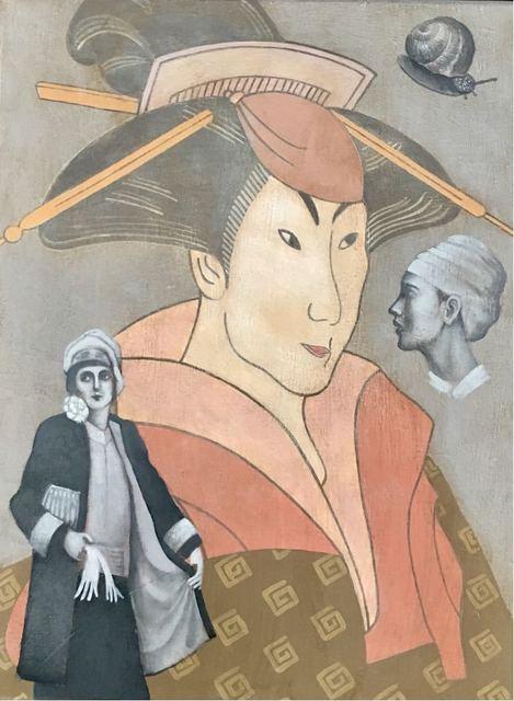 , 'Lovers of Hirotaki,' 2018, Want Art Gallery