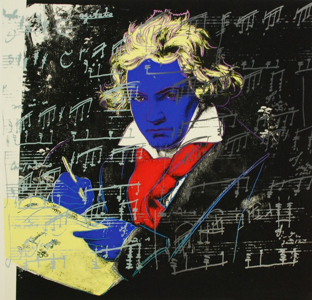 Andy Warhol, 'Beethoven', 1987, Print, Screenprint on Lenox Museum Board, Harn Museum of Art