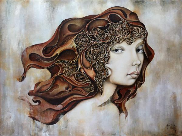 , 'Waves of My Mind,' 2018, Black Door Gallery