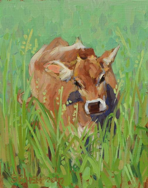 , 'Cow Study 19,' , West Branch Gallery