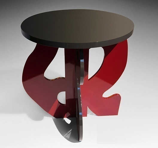 , 'Side table,' 2013, Galerie Diane de Polignac & Chazournes