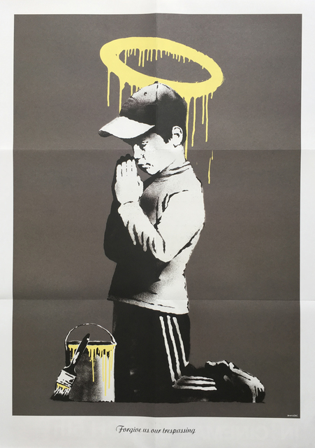 Banksy, 'Forgive us our trespassing', 2010, Oliver Clatworthy Gallery Auction