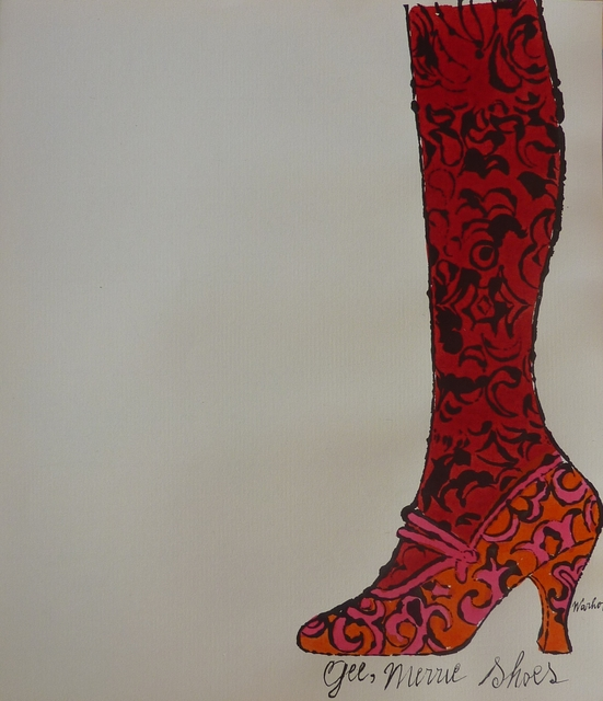 , 'Gee Merrie Shoes © Andy Warhol,' ca. 1955, Long-Sharp Gallery