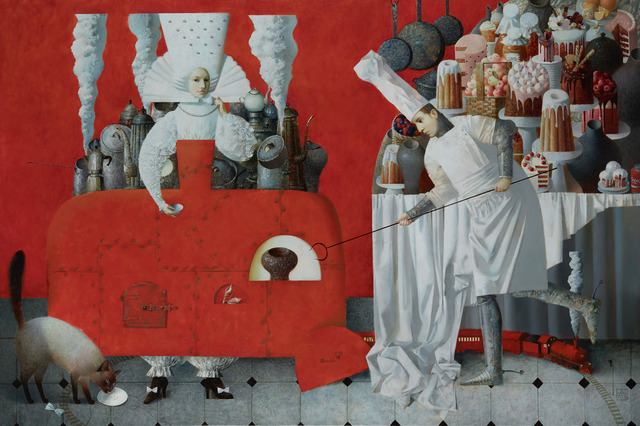, 'Hot Woman,' 2018, REDSEA Gallery
