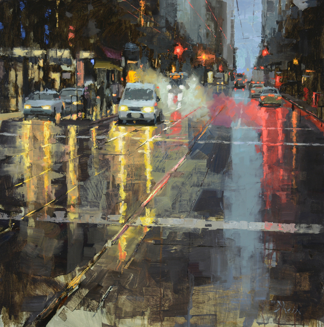 , 'Early Morning on Market St,' 2015, Abend Gallery