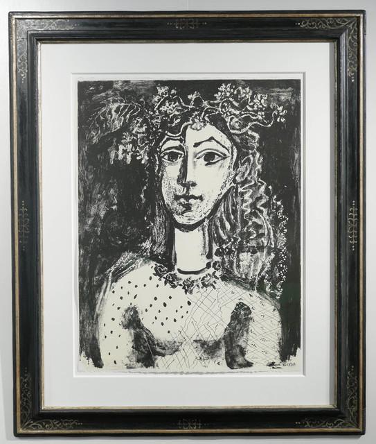 , 'Jeune fille inspiré par Cranach (black),' 1949, Galerie Ostendorff