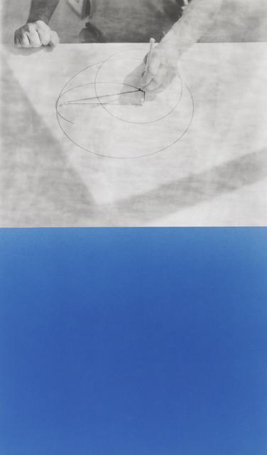 , 'Cyanomètre 7,' 2017, Catherine Edelman Gallery