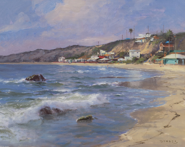 Donald W. Demers, 'Crystal Cove Rhythms, California', 21st Century, Painting, Oil on mounted linen, Vose Galleries