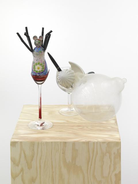 , 'Sind die Glaeser denn auch wirklich sauber? (Detail),' 2011, Ginerva Gambino