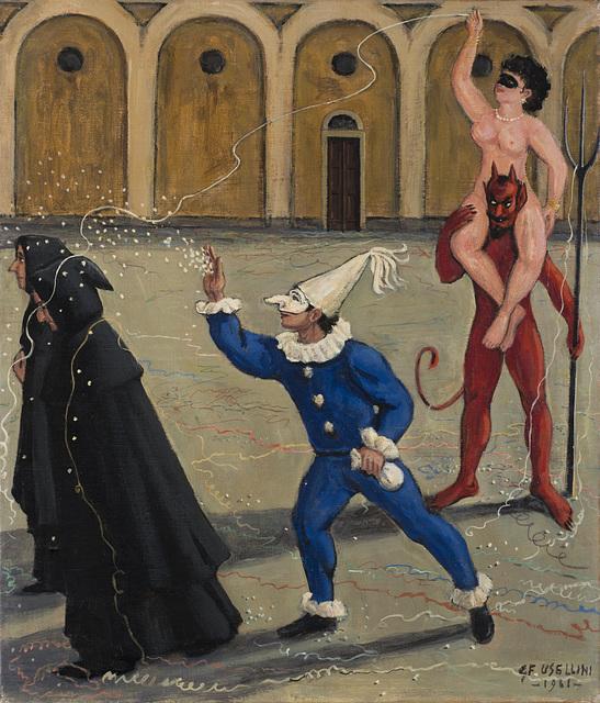 Gianfilippo Usellini, 'Untitled (le tentazioni)', 1961, Il Ponte