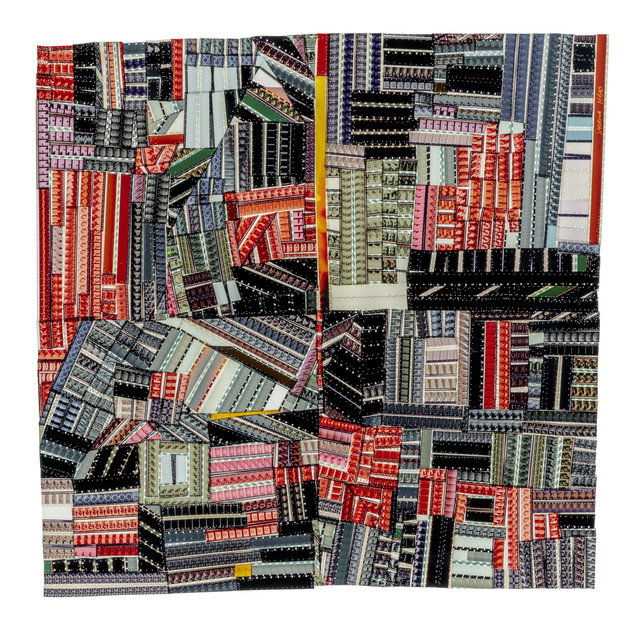 , 'Hands at Work Crazy Quilt (For Roderick Kiracofe),' 2017, Shoshana Wayne Gallery