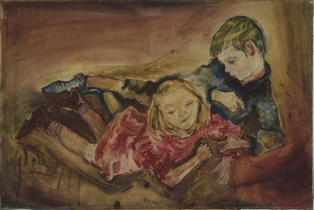 , 'Children Playing,' 1909, The National Gallery, London