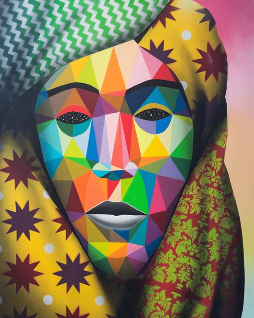 Okuda San Miguel, 'Lost Refugee 1', 2016, Underdogs Gallery