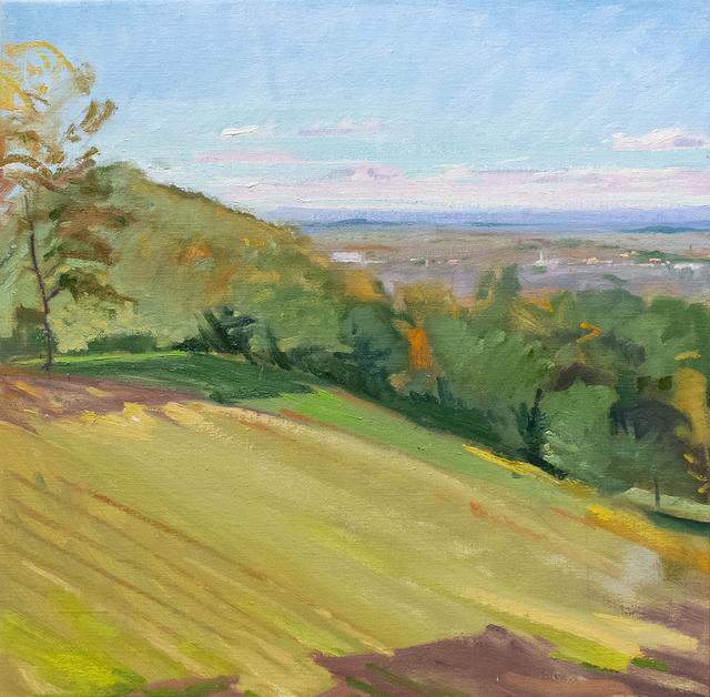 John Kelly, 'Towards Hudson From Olana', 2018, Carrie Haddad Gallery