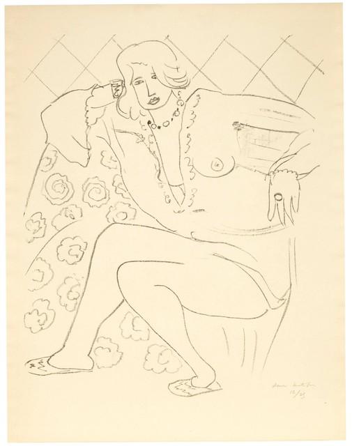 Henri Matisse, 'Figure assise, blouse transparente', 1929, Bernard Jacobson Gallery