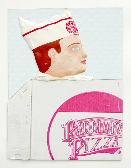 , 'Pagliai's Pizza Boy,' 2015, P.P.O.W