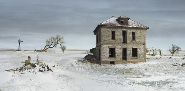 , 'Murray House, Sears Roebuck Rockfaced Wizard No. 52, Sheridan County, Nebraska,' 2013, Kopeikin Gallery