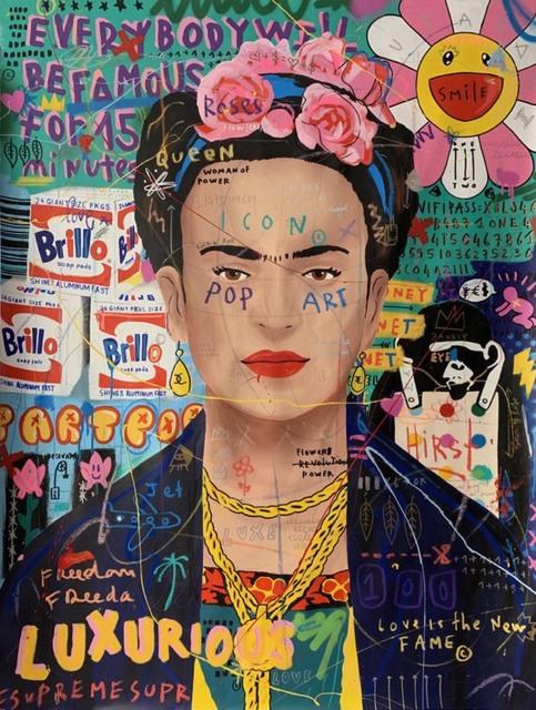 Jisbar, 'Frida Brillo', 2019, 5ART GALLERY