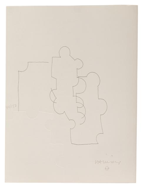 Eduardo Chillida, 'Emile M. Cioran: Ce maudit moi I', 1983, Zeit Contemporary Art