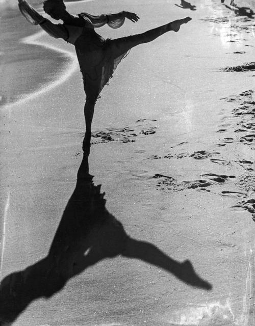 , 'Bailarina na praia, Rio de Janeiro,' 1946, Luciana Brito Galeria